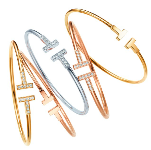 Tiffany and Co. T collection rings and bracelets-9