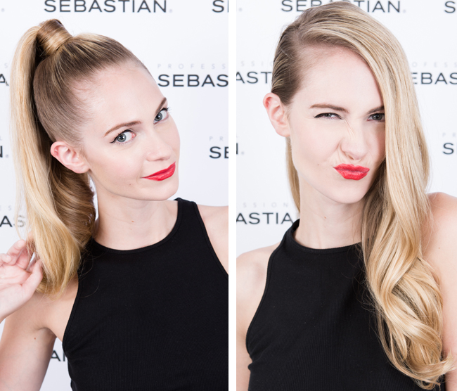 Two Hollywood Glam Sleek Hairstyles for Red Carpet hair