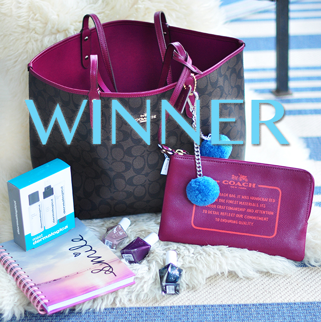 WINNER Love Maegan Giveaway_Coach Tote bag_August