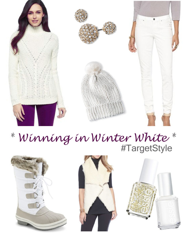 Winning in Winter White Target Style