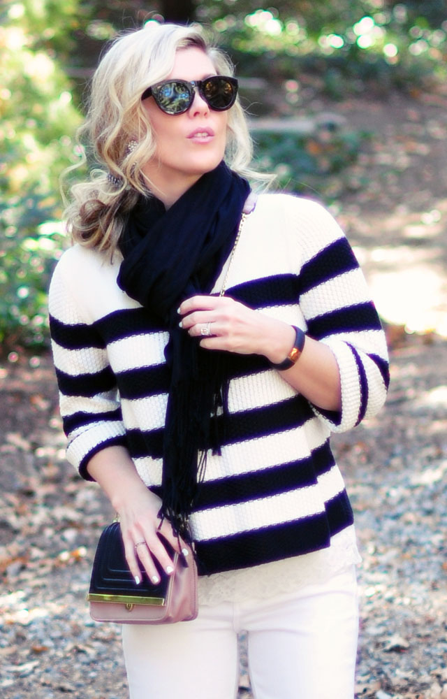 Winter white+black -  Target style