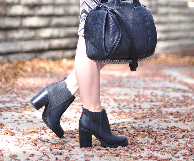 ankle boots+alexander wang rocco bag