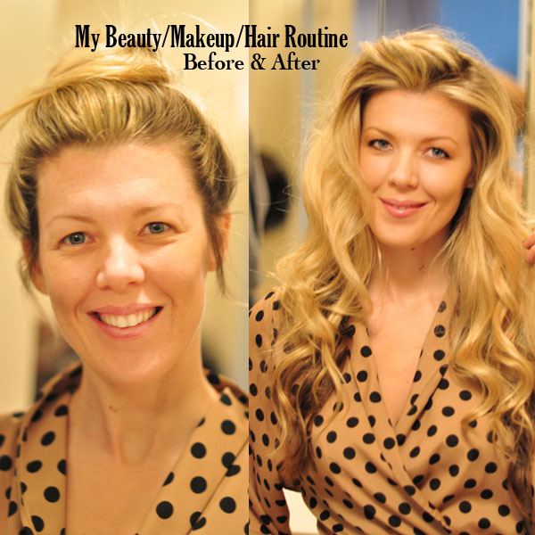 beauty-makeup-routine-before after
