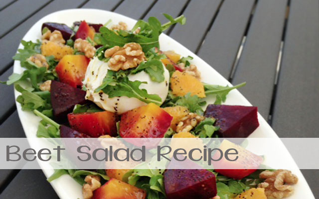 beet salad recipe feature