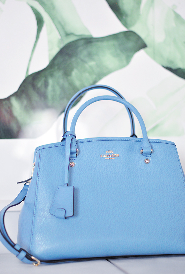 blue handbag_coach bag_Spring bags_pastels