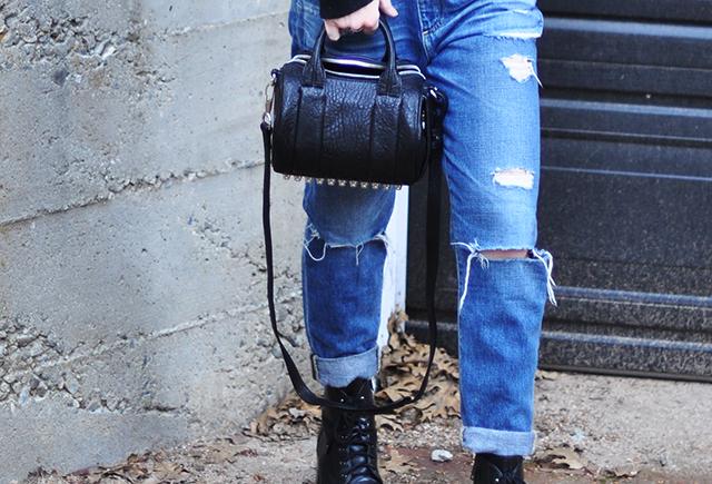 boyfriend jeans_alexander wang mini rockie bag
