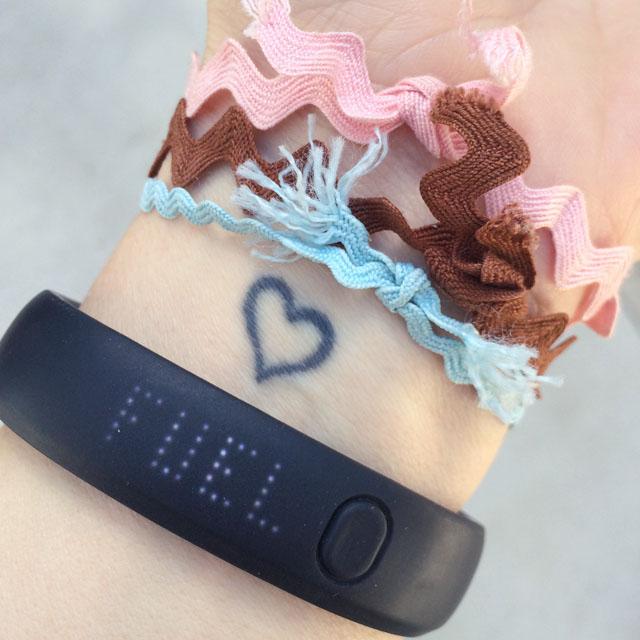 bracelet reminders nike