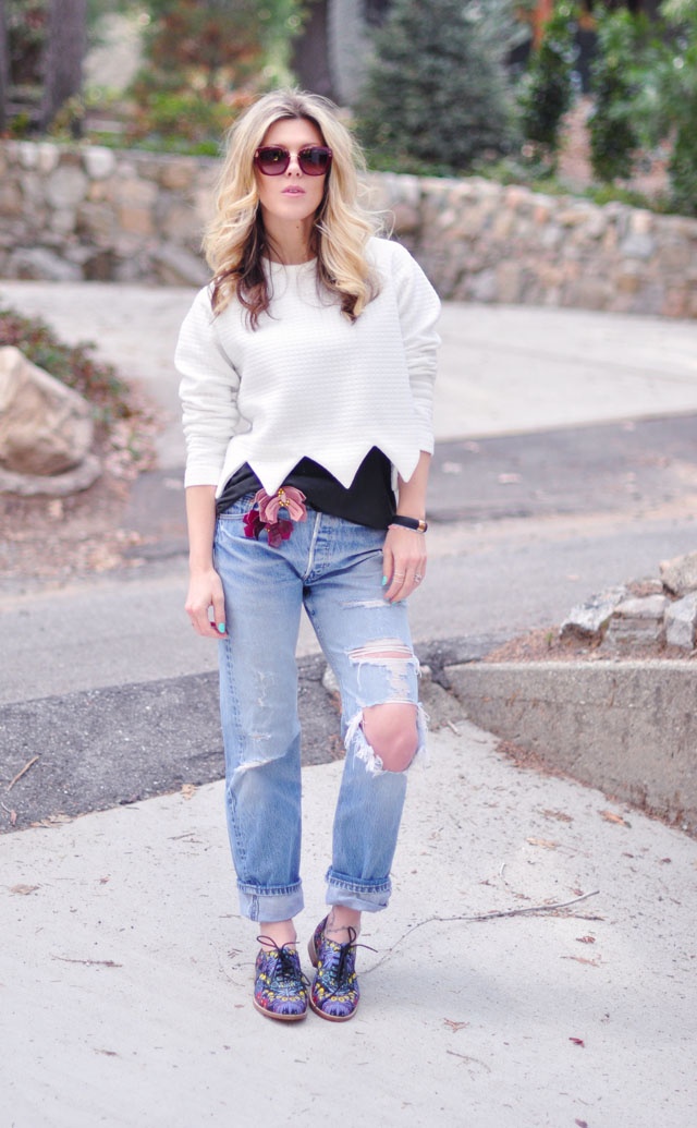 casual comfy cute spring outfit