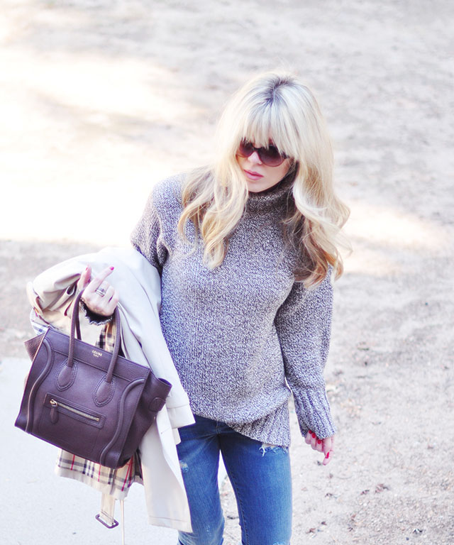 casual cozy outfit