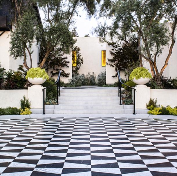 catellis_black and white tile