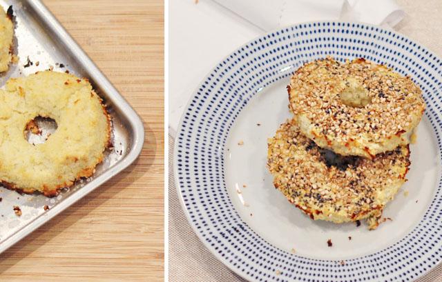 cauliflower bagels recipe-5