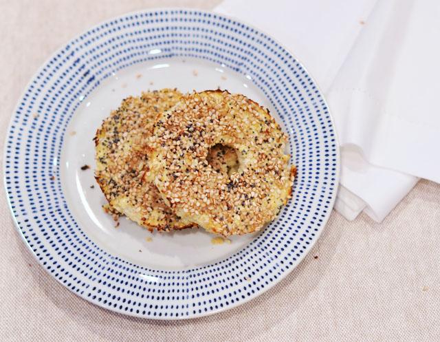 cauliflower bagels recipe