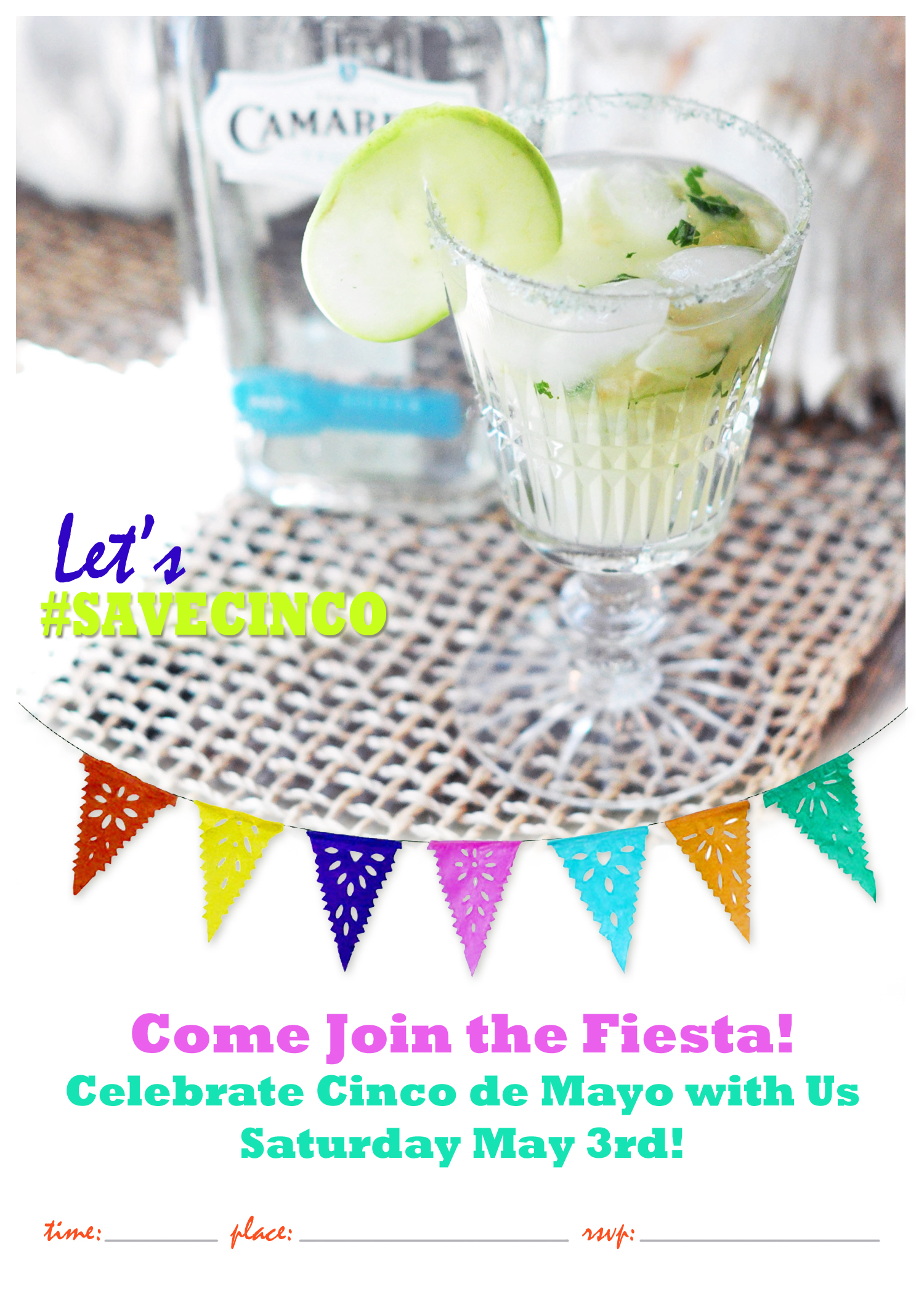 cinco de mayo printable invite RGB