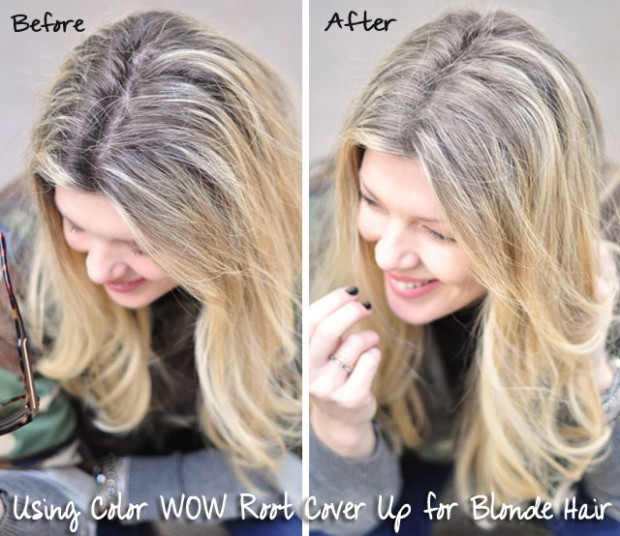color wow root cover up review blonde