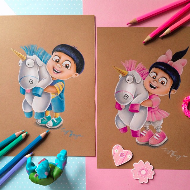 colored pencil on paper_tanya bonya