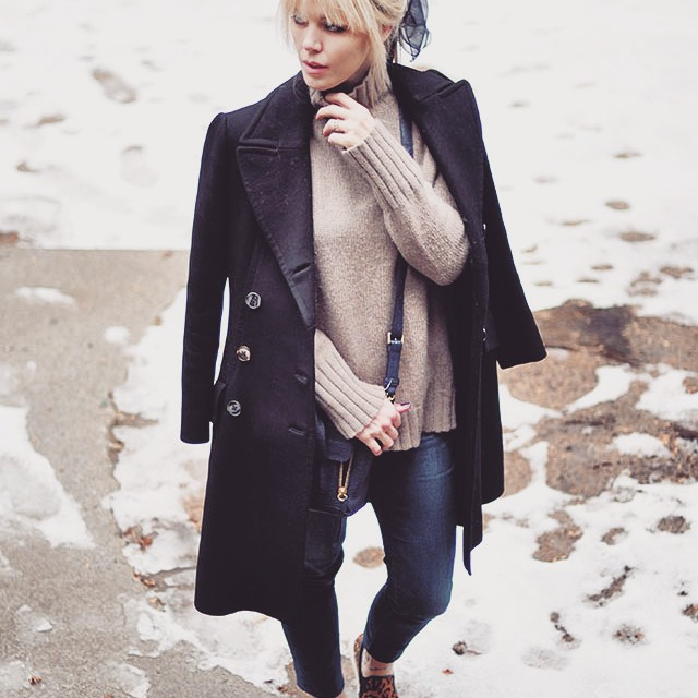 cozy layers-casual friday