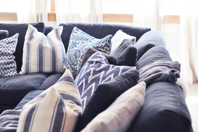 cozy sofa pillows
