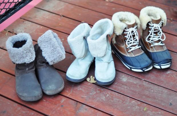crocs winter boots