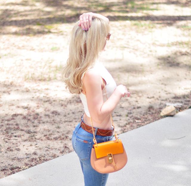 crop top_jeans_chloe bag
