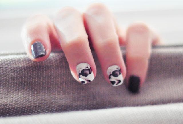 custom nail wrap stickers -doggies