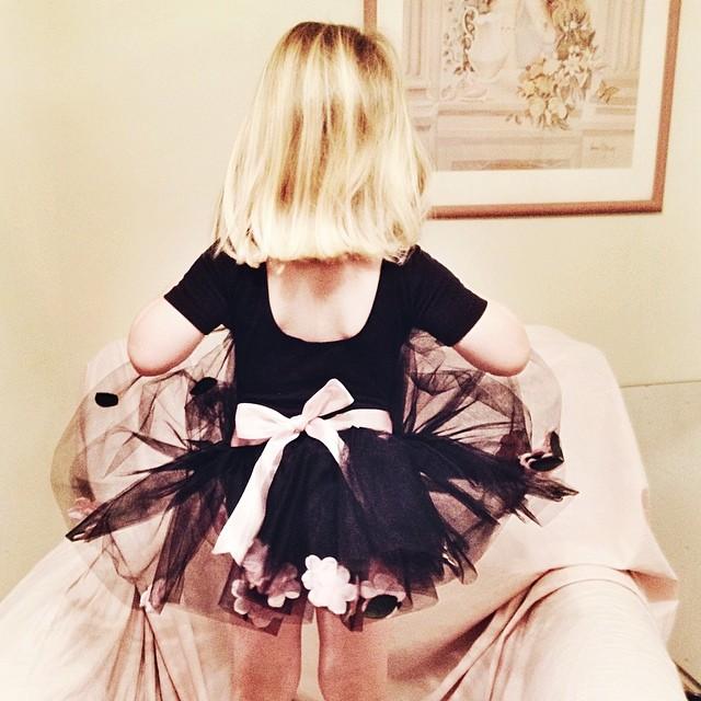 delilah in ballet outfit