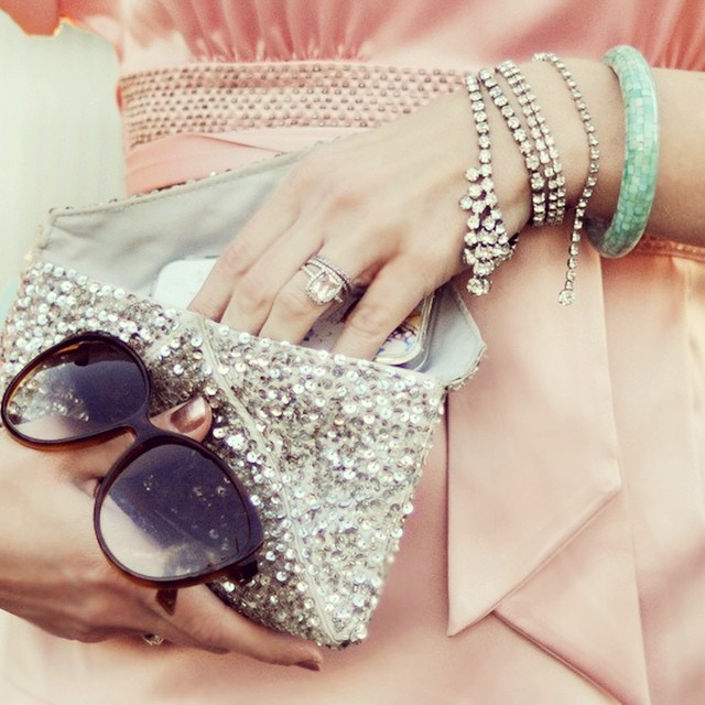 details-rhinestones-sequins-pink and gray