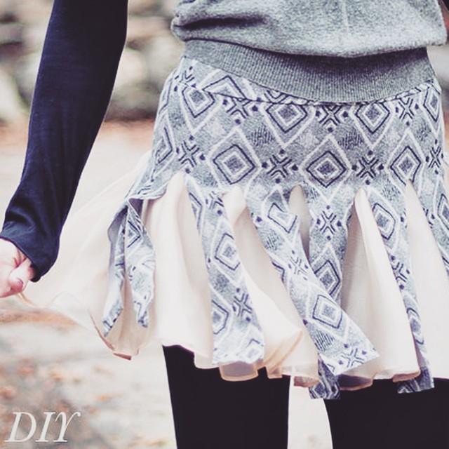 diy cheerleader skirt