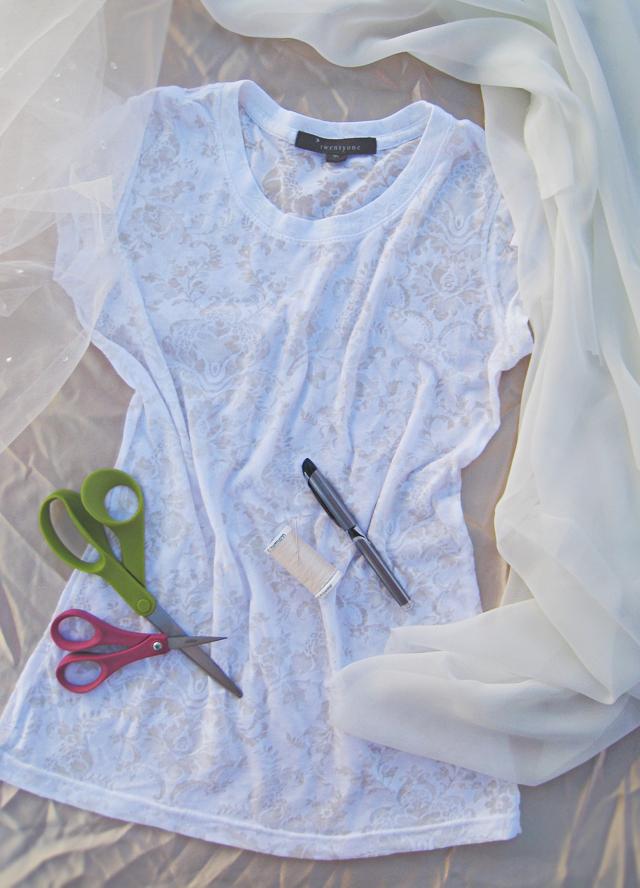 diy wedding shrug from t-shirt-1