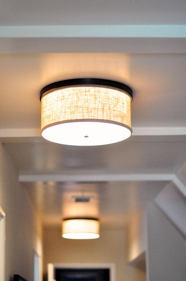 drum shade ceiling lamp fixtures