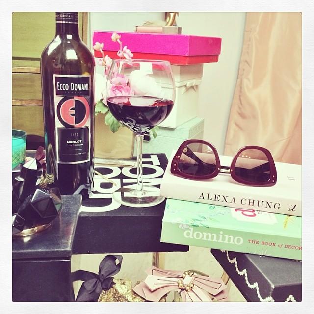 ecco domani wine-messy office