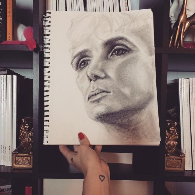 face study_cilllian murphy_peaky blinders_art