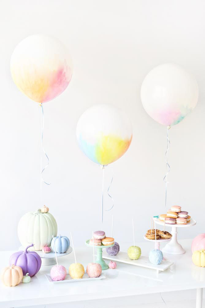 fallin for baby_pastel pumpkin themed fall baby shower-1
