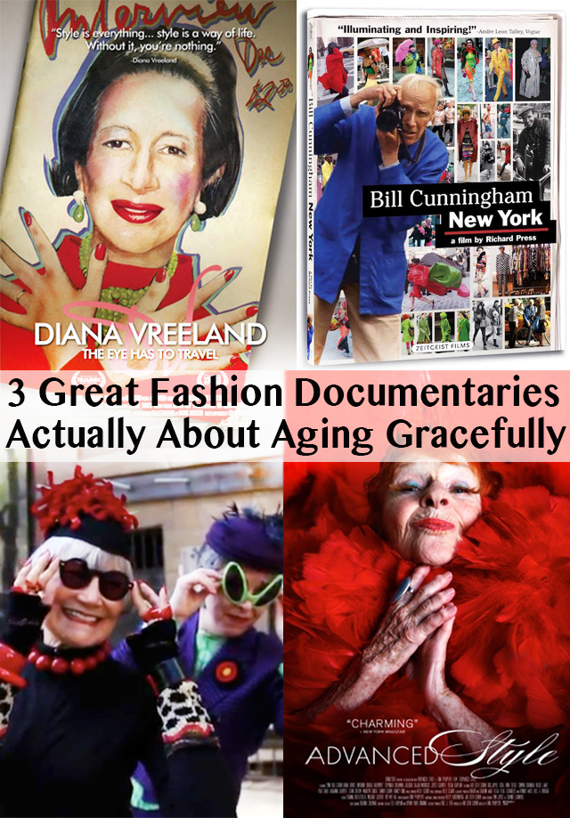 fashion documentaries also about aging gracefully