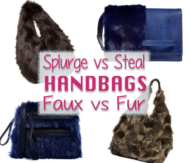 faux vs fur handbags