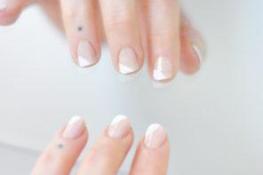 french tips twist_ nail art