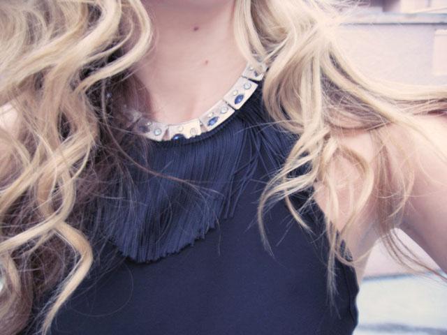 fringe necklace-featherLBD-28