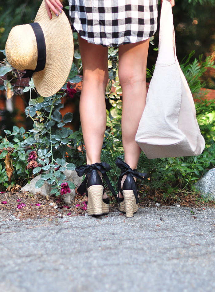 ankle wrap espadrille wedges - summer style - maegan tintari