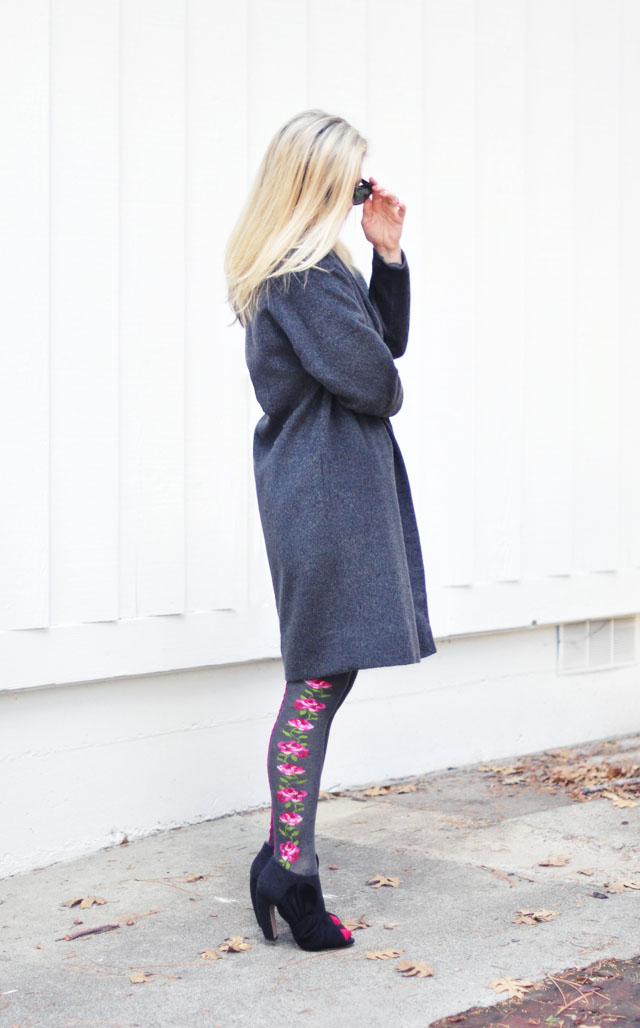 gray coat and pink flower tights-1-2