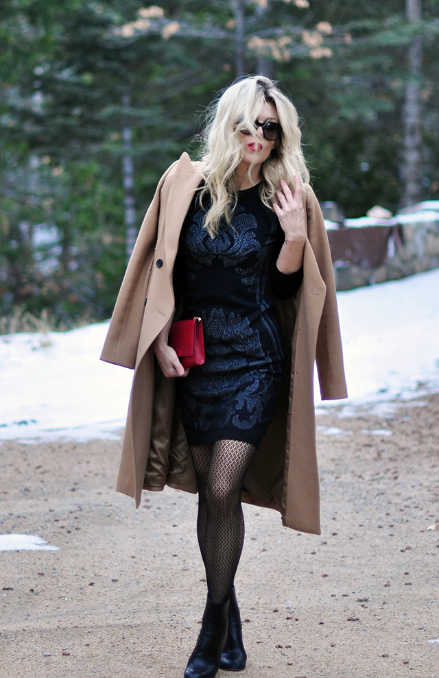 holiday-dress-with-camel-coat_-red-bag-red-lips