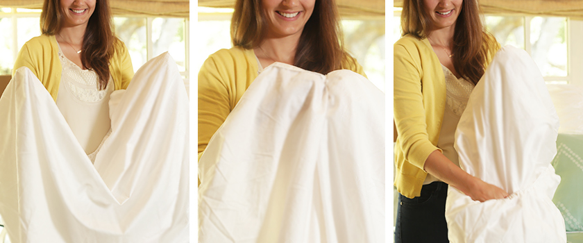 how to fold a fitted sheet perfectly in seconds-5-6