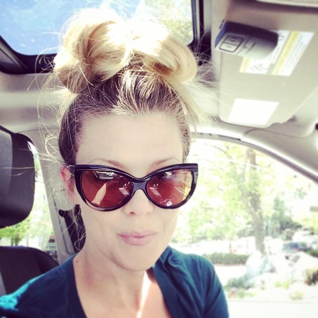 huge top knot-sunglasses