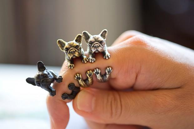 French bulldog rings