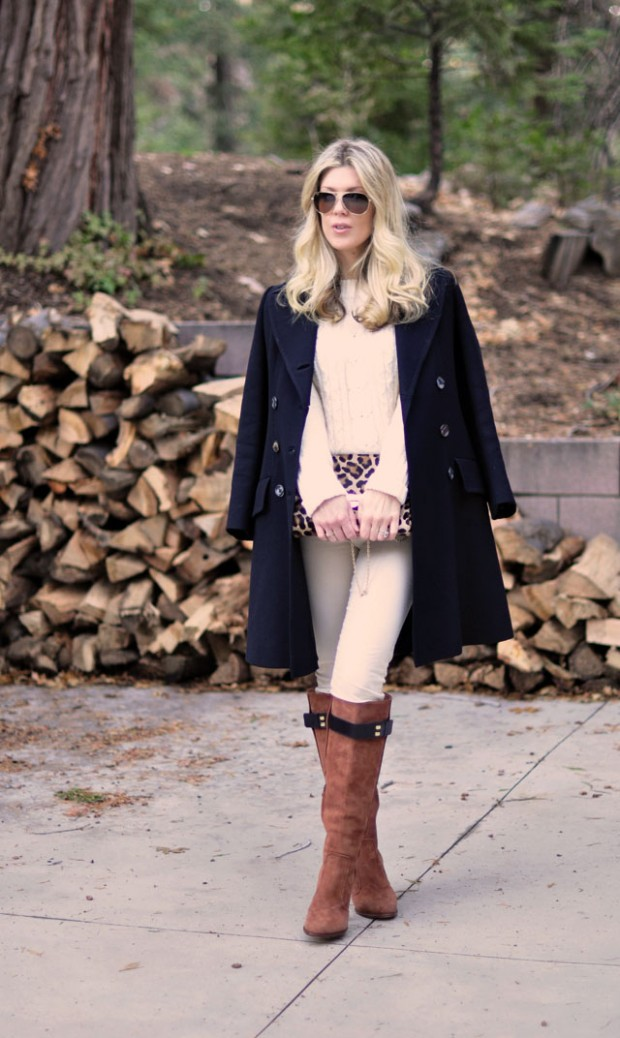 ivory sweater-cords-boots- jacket