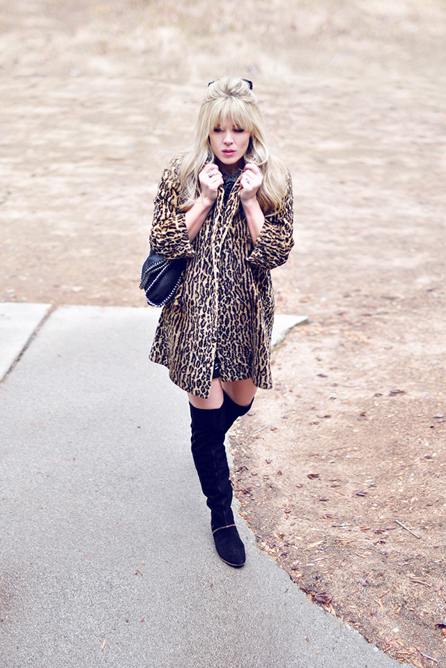 leopard coat_thigh high boots