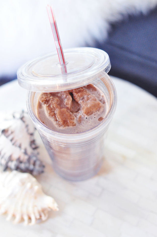 low sugar ice blended mocha frap