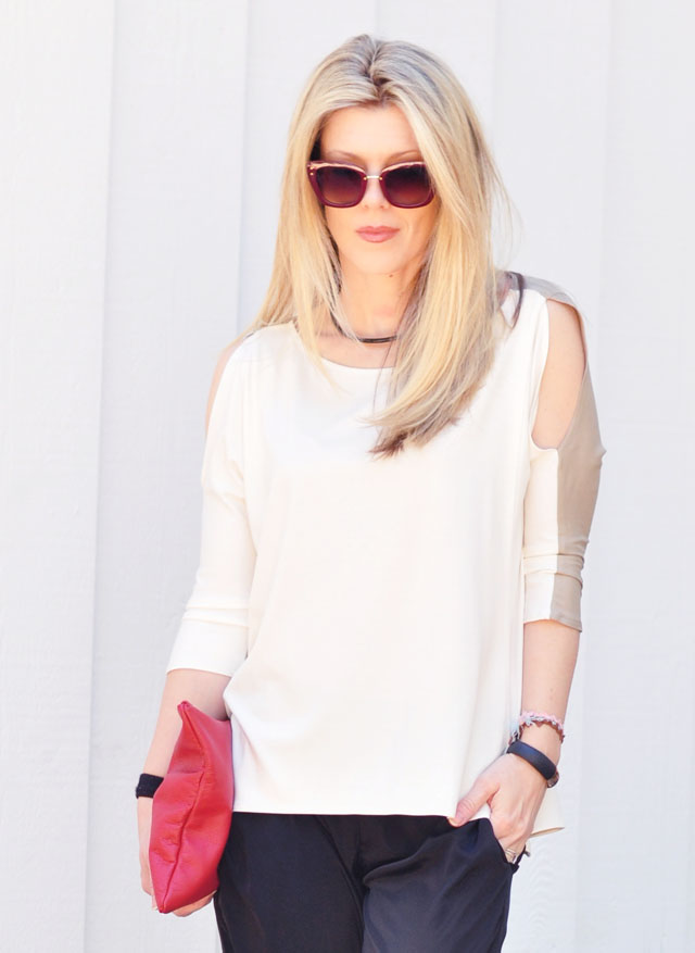 marc jacobs sunglasses-straight blonde hair