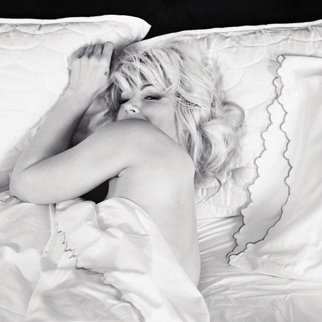 marilyn in bed by maegan