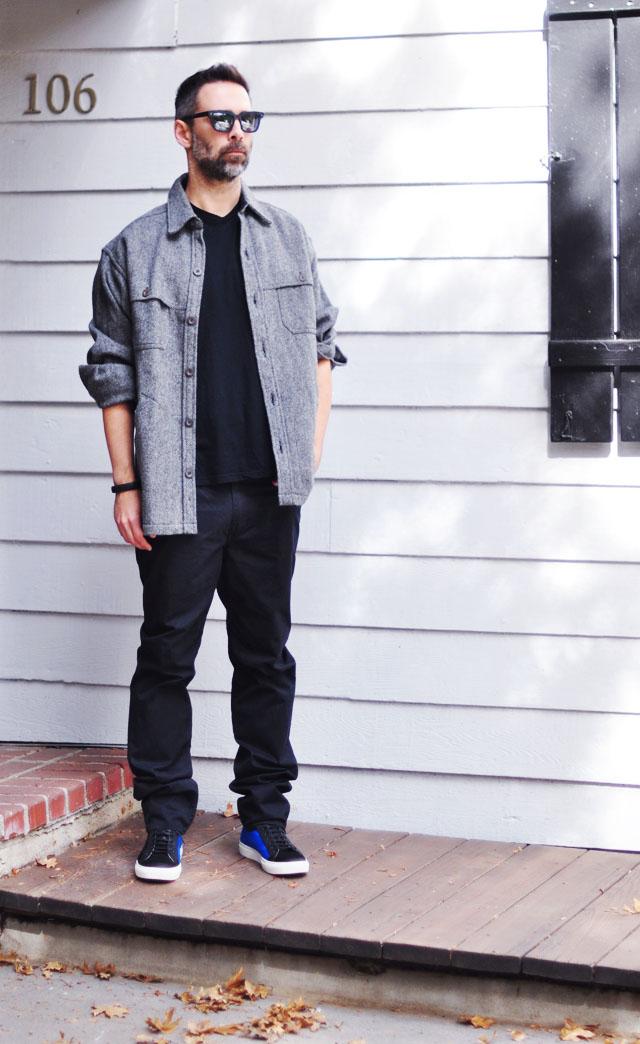 mark jacobs pants-menswear- pendelton jacket