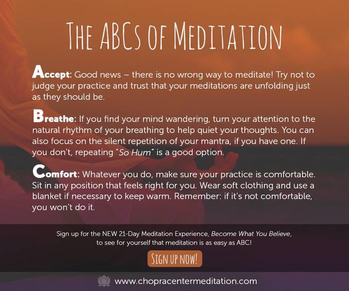 meditation abcs