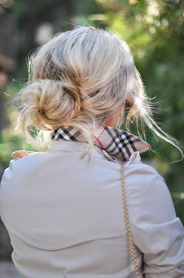 messy-bun_burberry-coat
